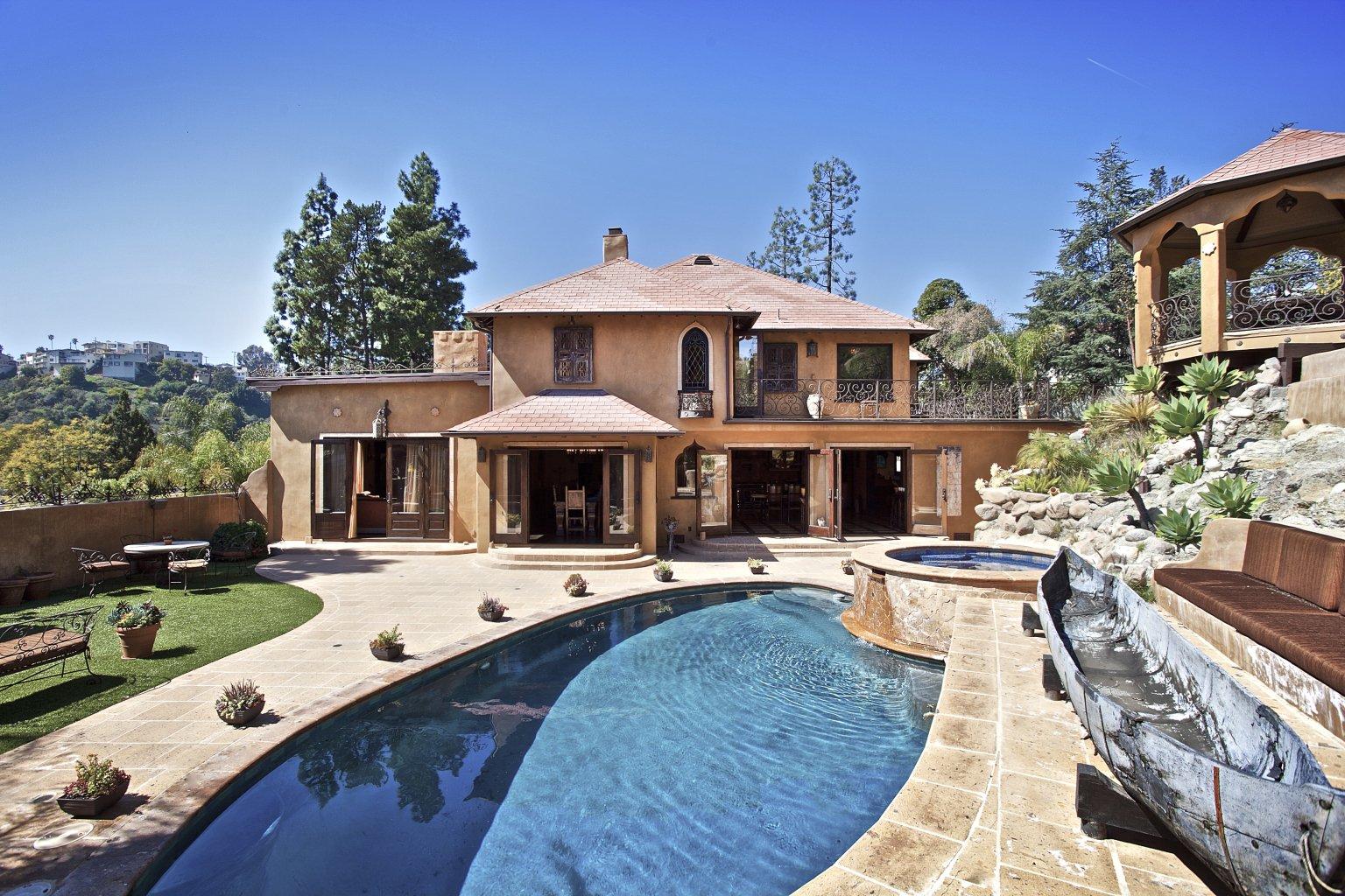 Maison avec piscine 4 chambres los angeles - Los angeles maison de star ...
